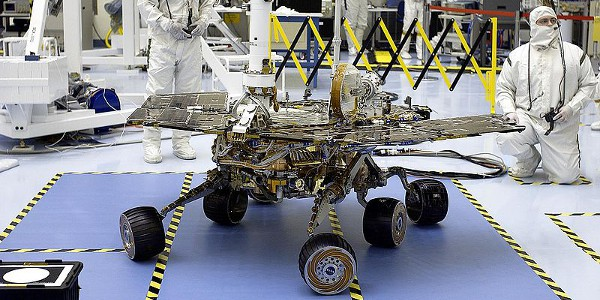 Mars Rover Mer-B, Discovery