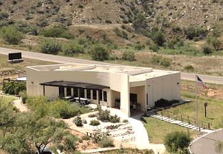 Visitor Center at Alibates Flint Quarries NM
