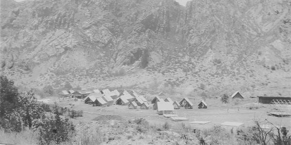 CCC Camp at Big Bend National Park