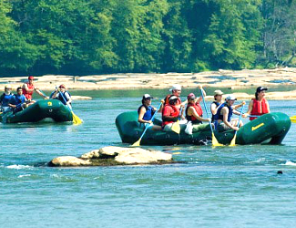 Rafting on the Chattahoochee River