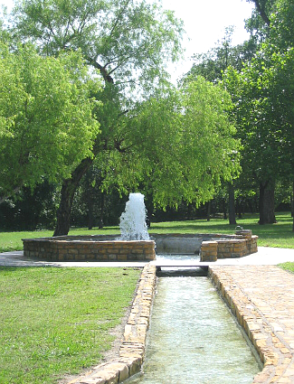 Vendome Well at Chickasaw National Recreation Area
