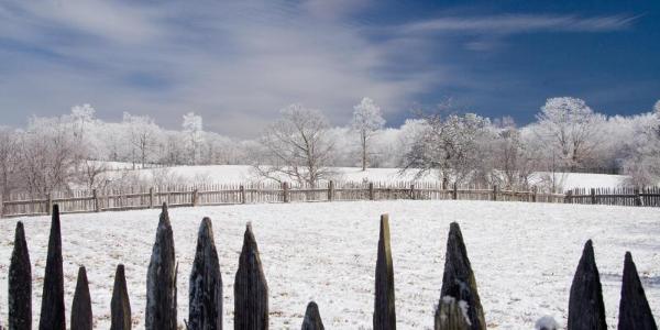 Winter at Hensley Settlement