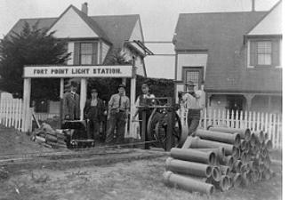 Fort Point Light Station