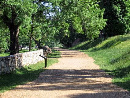 Sunken Road, Fredericksburg
