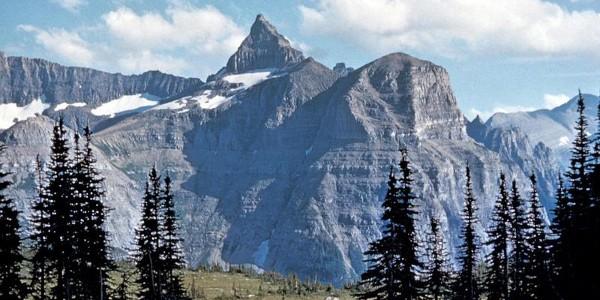 Thunderbird Mountain at Glacier National Park