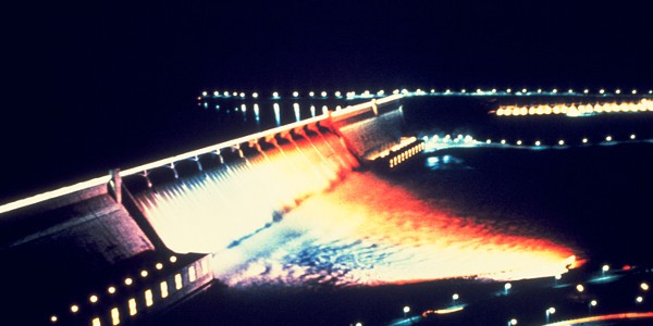 Grand Coulee Dam Laser Show