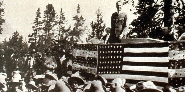 Grand Teton Dedication Ceremony 1929