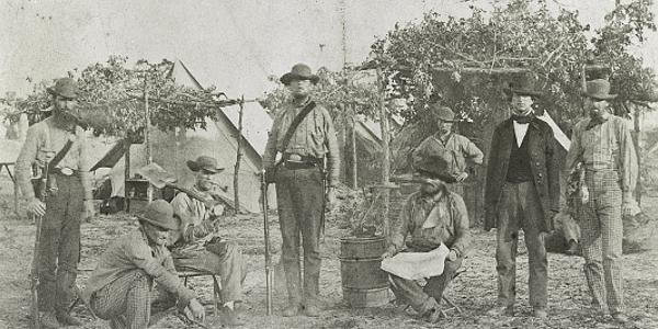 Civil War at Gulf Islands