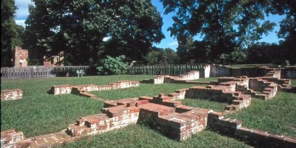 Ruins of the Jamestown Settlement