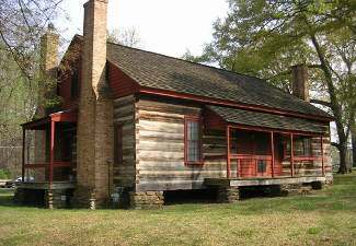Kolb farmhouse on Kennesaw Mountain Battlefield