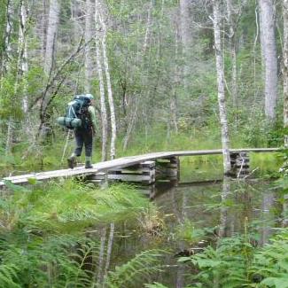 Hiking at Klondike Gold Rush NHS