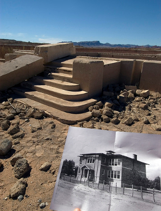 Lake Mead St. Thomas Ruins