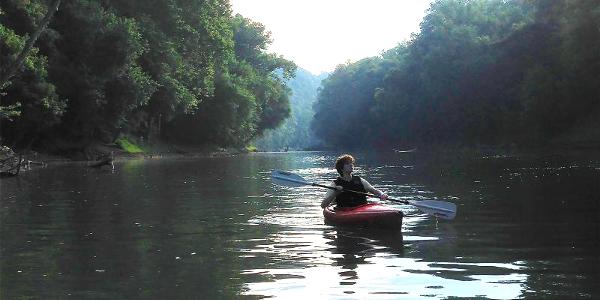 Mammoth Cave National Park Kayaking