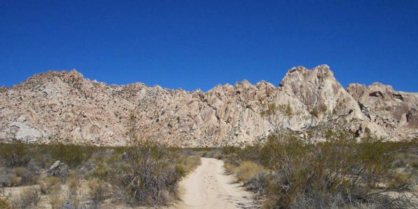 Granite Mountains at Mojave National Preserve