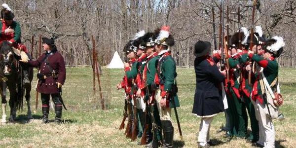 American Revolution Reenactment at Morristown