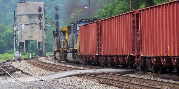 Coal Train at Thurmond