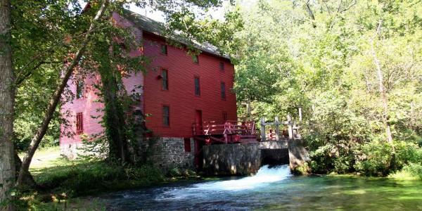 Alley Mill at Ozark NSR