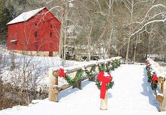 Alley Mill in winter