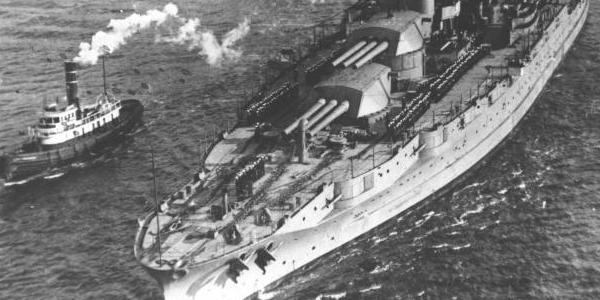 USS Arizona Maiden Voyage