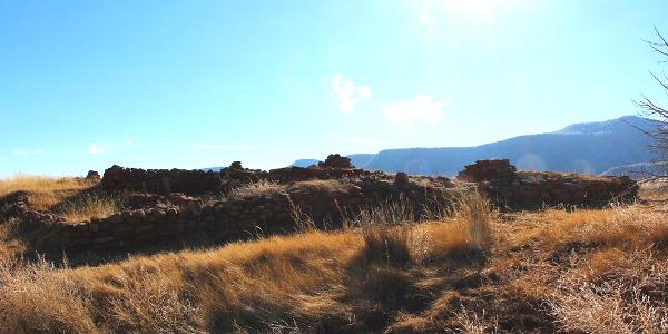 Ruins of the Pecos Pueblo