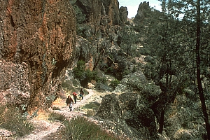 Hiking at Pinnacles National Park