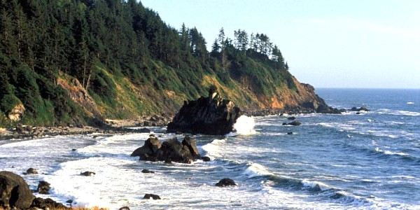 Pacific Coast at Redwood National Park