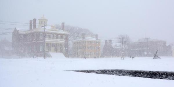 Salem Maritime in Winter