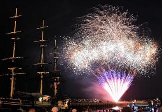 Salem Maritime NHS Fireworks
