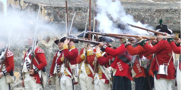 San Juan Fort Reenactment