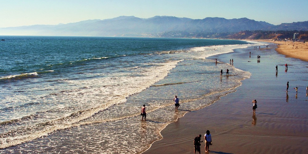 Santa Monica Mountains and Beach