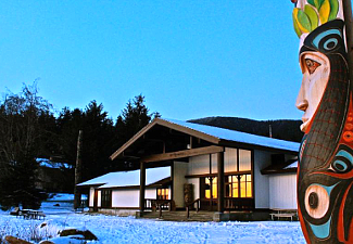 Sitka NHP Visitor Center