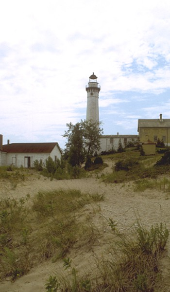 Sleeping Bear Dunes lighthouse