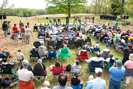 Opening Ceremony, 150th Anniversary, Wilderness and Spotsylvania Battles of the Civil War