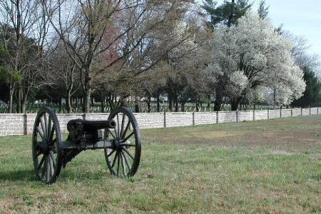 Cannons at Stones River National Battlefield