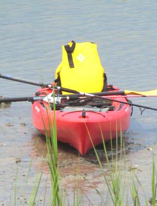 Kayaking at Timucuan