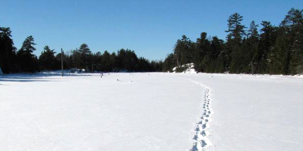 Voyageurs National Park in Winter