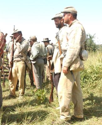 Reenactors at Wilson's Creek Battlefield