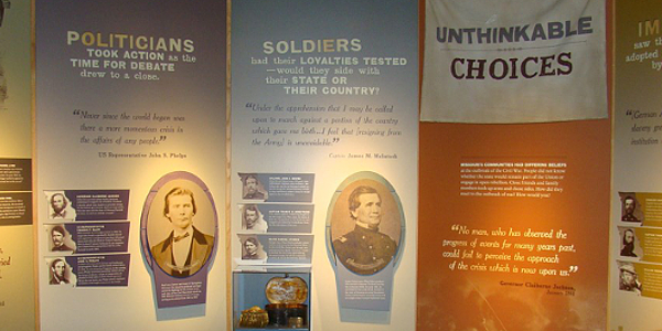 Wilson's Creek Visitor Center Exhibits