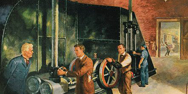 Drawing of first Air Conditioning Unit in 1902