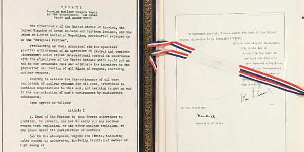 Test Ban Treaty 1963