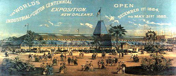 Main Exhibition Building, New Orleans 1884