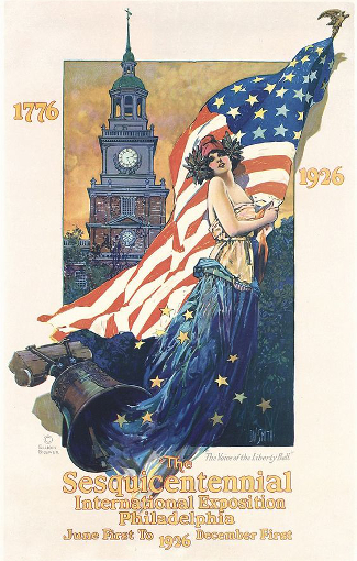Philadelphia Sesqui-Centennial Poster