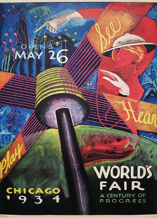 Chicago 1933-1934 Poster