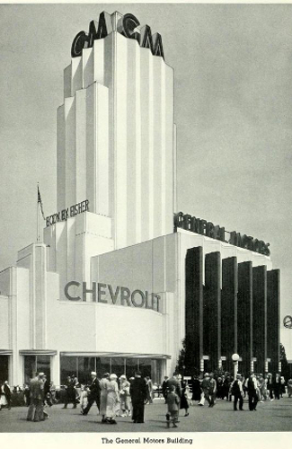 General Motors Pavilion, Chicago Century of Progress Exposition 1933-4