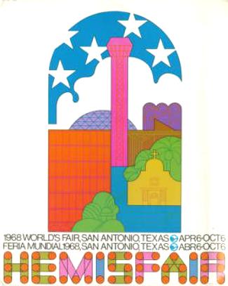 Hemisfair '68, San Antonio