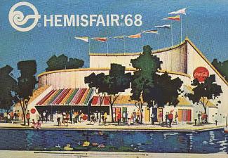Coca Cola Pavilion, Hemisfair '68