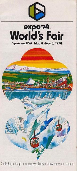 Spokane Expo '74 Poster
