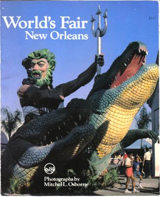 Nepture on an Alligator Sculpture, New Orleans World's Fair 1984