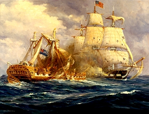 Naval Battle, War of 1812