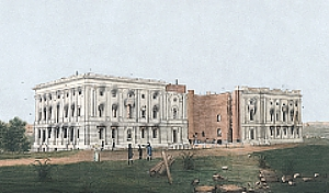 White House during War of 1812